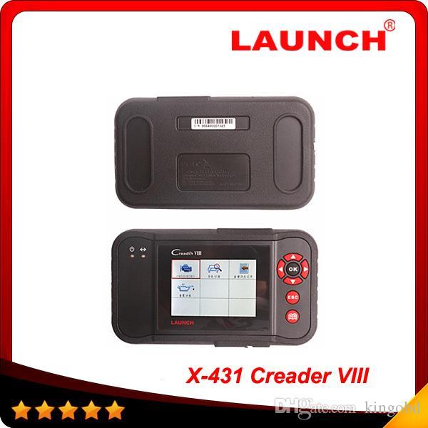 2016 Original LAUNCH Creader VIII Professional Auto Code Reader Scanner CreaderVIII Multi-languages Creader 8 DHL Free Shipping
