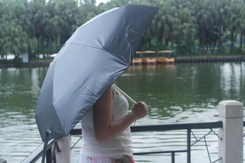 코뿔소 자리 별자리 태양 보호 우산, 3 배 자동 paraguas 들어 갔어