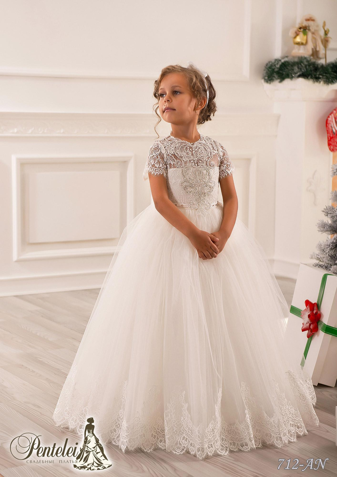 87d8b48f71829 Elegant Flower Girls' Dress Short Sleeves Toddler Crystals Cupcake Princess  Miniature Girls Wedding Dresses Flowers Girls Dresses Flowers Girls ...