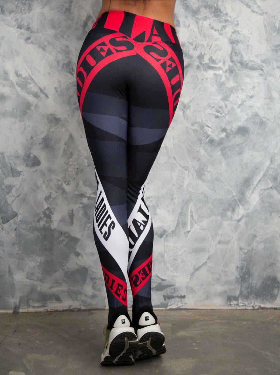 Womens Print Sexy Athleisure Fitness Slim Bodycon Pants Ladies Fashion Gymnasium Active Elastic Skinny Leggings Trousers