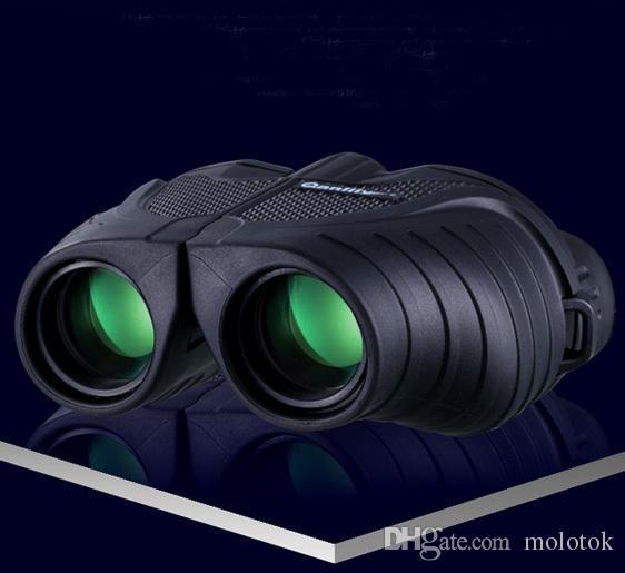 Alta vezes binóculos telescópios à prova d 'água de turismo óptico esportes ao ar livre ocular binóculos visão noturna infravermelho A5