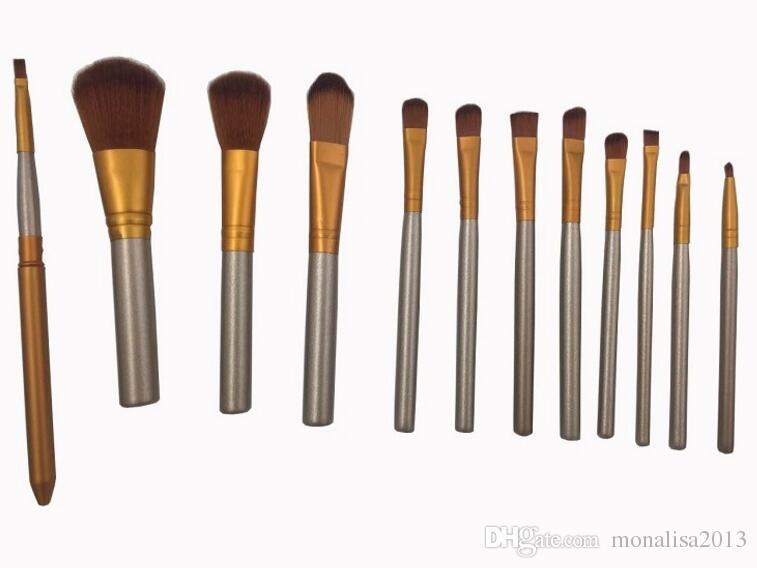 2018 New Hot makeup 12 Pcs/set brush NUDE 3 Makeup Brush kit Sets for eyeshadow blusher Cosmetic Brushes TooL DHL