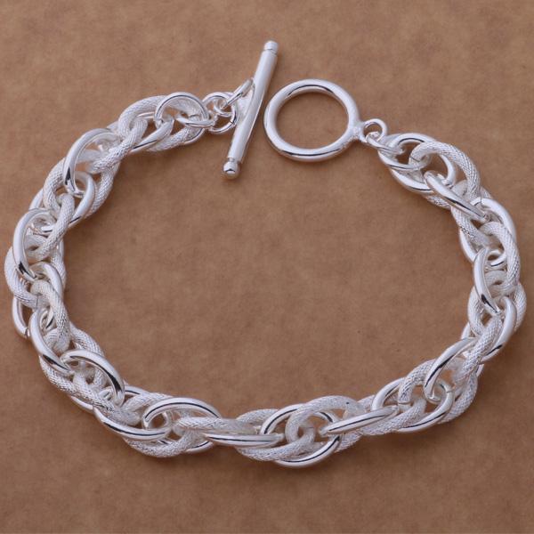 Livraison gratuite avec numéro de suivi Top Vente 925 Bracelet en argent Gyrosigma Bracelet Bijoux en argent 10 Pcs / lot pas cher 1579