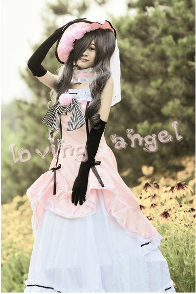 Butler Noir Ciel Phantomhive Fille Robe Kuroshitsuji Femmes Cosplay Costume Taille Personnalisée Livraison Gratuite