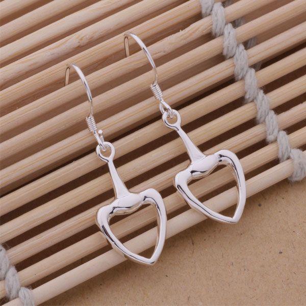 Mode (bijoux Fabricant) 40 pcs beaucoup Boucles d'oreilles en forme de pelle 925 usine bijoux en argent sterling Boucles d'oreilles service de la mode