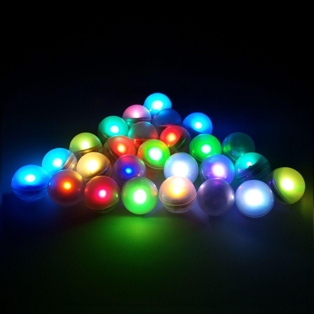 100 Unids / lote Fairy Led perlas luces de bayas de luz para la decoración del banquete de boda con pilas lámparas de noche de flores
