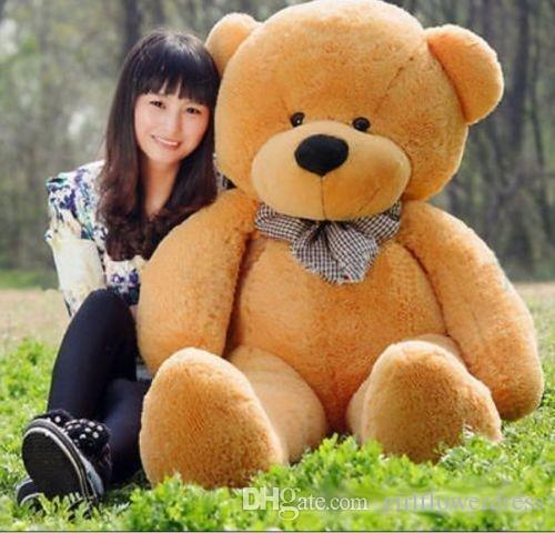 60CM GIANT HUGE BIG brown TEDDY BEAR PLUSH SOFT TOYS DOLL GIFT Stuffed Animal