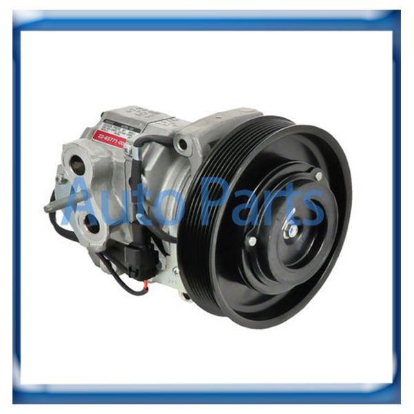 10S15C ac compressor for Freightliner Cascadia Base 15.0L 22-65771-000 447280-1501 7512852 2022496AM