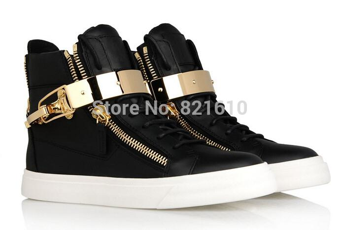 Trend Cheap Name Brand Sneakers Gold