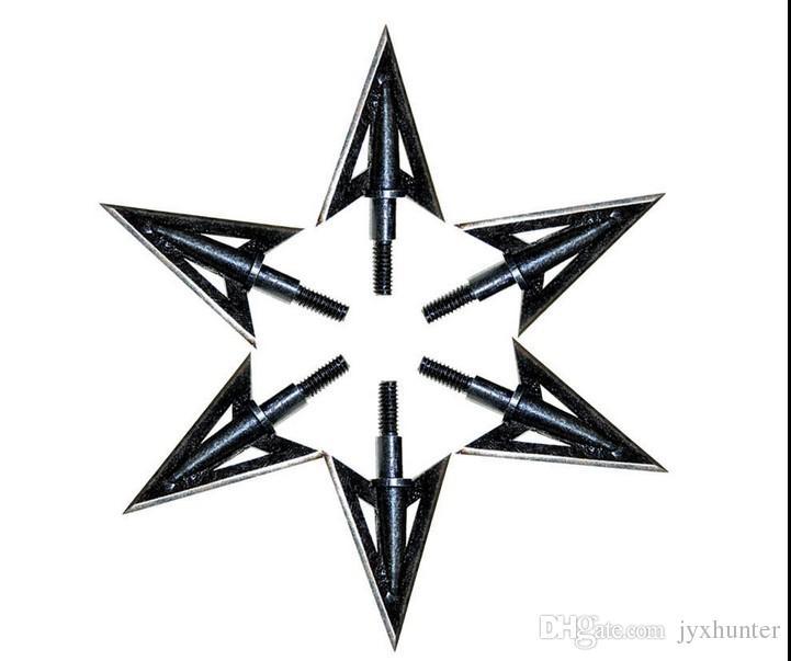 12 peças K12 caça com arco de metal 3 Lâminas Fixas Ultra Sharp Caça Flecha ponta Broadheads 100 grãos para caça arco composto