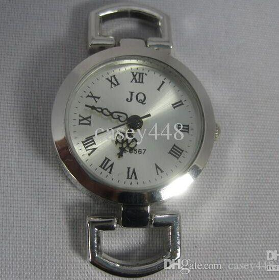 JQ Brand Silver Roman Vintage Watch Faces Dail Fit European Armband Handgjorda 100pcs / Lot DHL Gratis frakt
