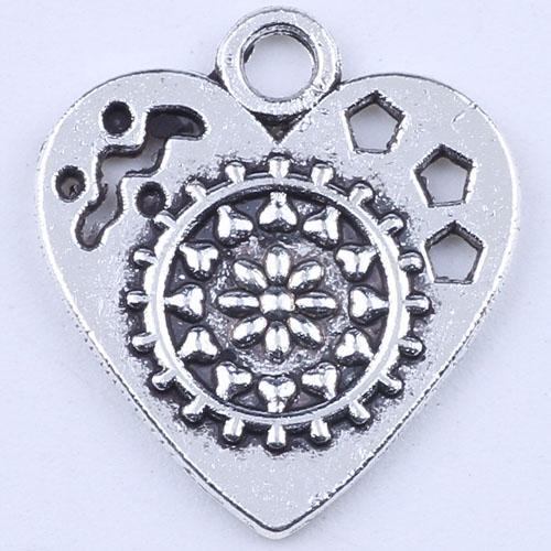 400 шт. / лот новая мода серебро ретро любовь DIY ювелирные изделия кулон любовь передач кулон fit ожерелье Шарм 1798c