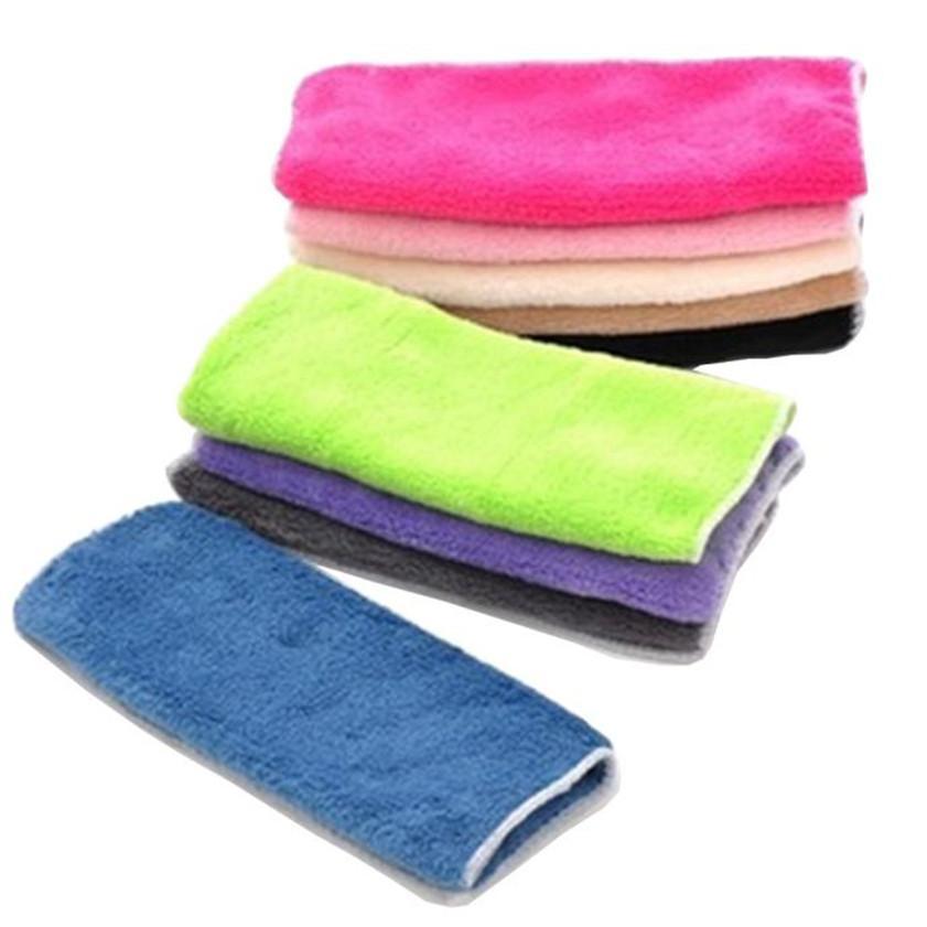الجملة-جودة عالية عالية الكفاءة مكافحة الشحوم اللون صحن القماش ألياف الخيزران غسل منشفة ماجيك تنظيف المطبخ مسح الخرق