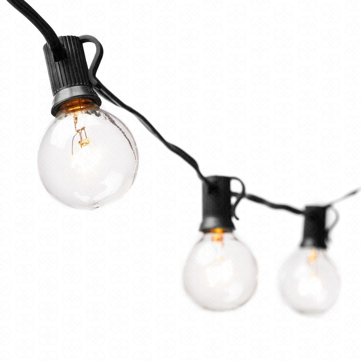String Lights 25ft Clear Globe Bulb G40 String Light Set With 25 G40 Bulbs  Included Patio Lights U0026 Patio String Lights G40 Bulb String Lamp, Wholesale  Globe ...