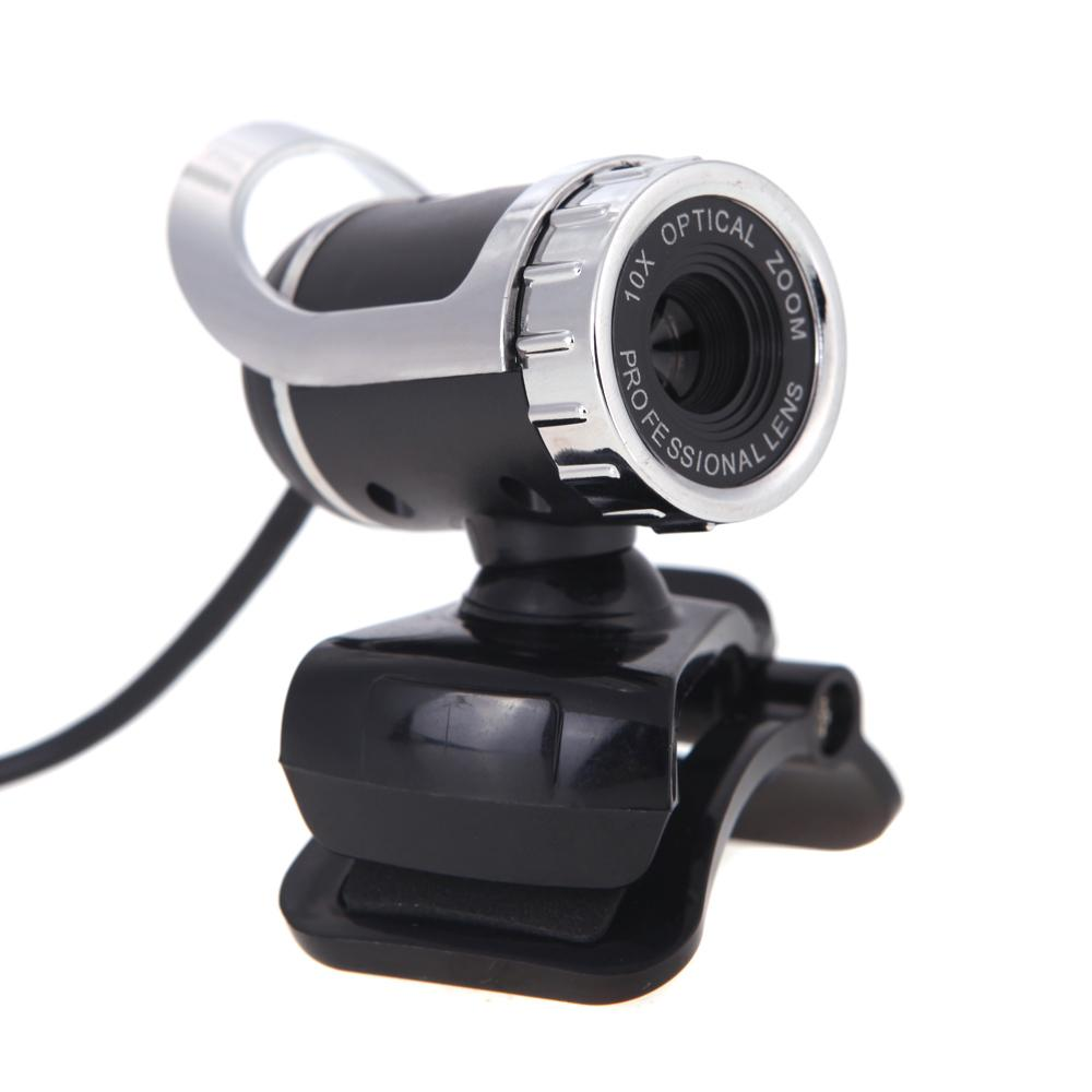 New USB 2.0 12 Megapixel HD Webcam Camera Web Cam Digital Video Webcamera with Microphone MIC for Computer PC Laptop Black