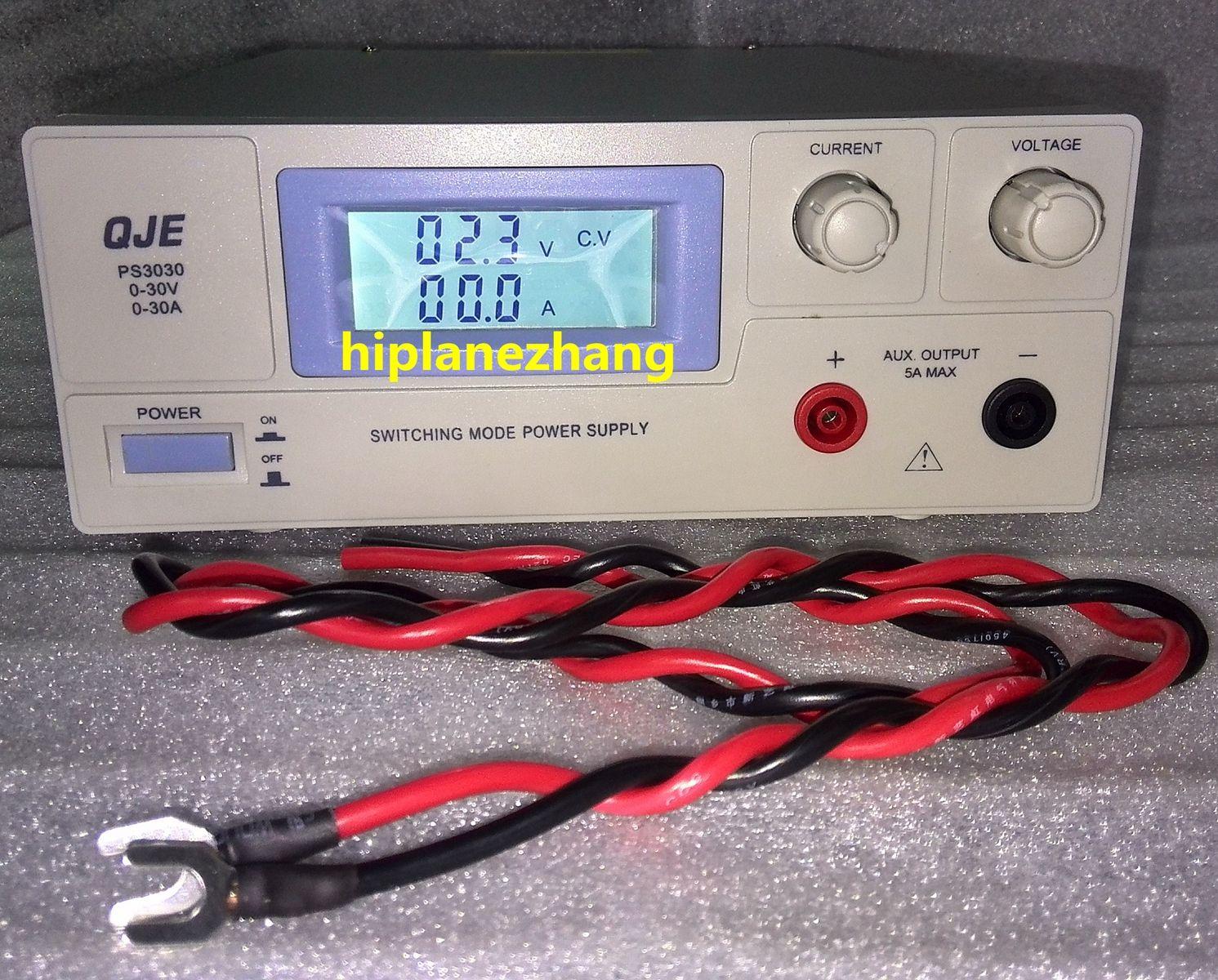 متغير قابل للتعديل المحمولة swithching العاصمة امدادات الطاقة الناتج 0-30V 0-30A دعم AC 220V PS3030