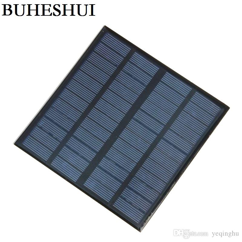 뜨거운 3W 12V 미니 태양 전지 다결정 태양 전지 패널 DIY 패널 태양 전원 배터리 충전기 145 * 145 * 3MM 10pcs / lot 무료 배송