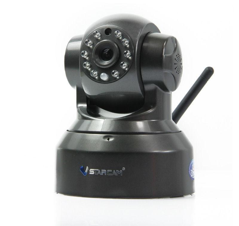 T6836WP PnP WiFi Kapalı IP Kamera 0.3 MegaPiksel Tak Oyna Destek 32G TF Kart 10 M IR Mesafe IP Kamera