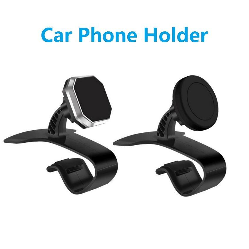 아이폰 X 8 7 6에 대 한 자동차 대시 보드 전화 홀더 자석 마운트 자동차 홀더 360도 Ratotable 지원 모바일 자동차 전화 스탠드