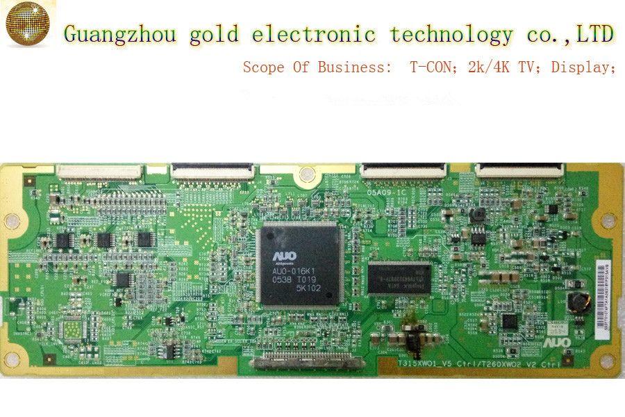 Original AUO logic board T315XW01_V5 T260XW02 V2 05A09-1C T-CON board CTRL board Flat TV Parts LCD LED TV Parts