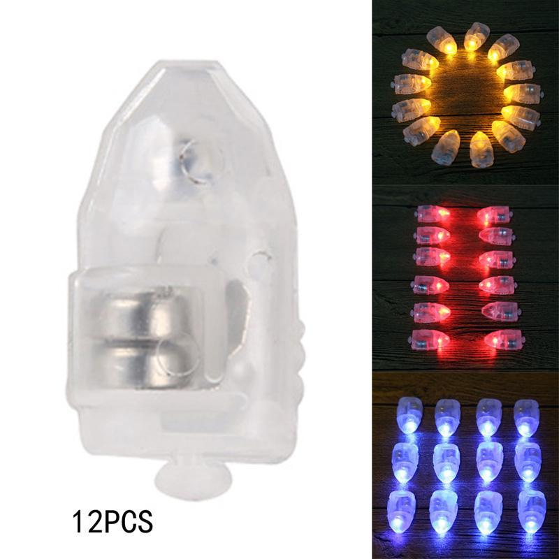 200pcs LED 초 롱 풍선 화이트 파티 조명 꽃 장식 램프 고품질 무료 배송