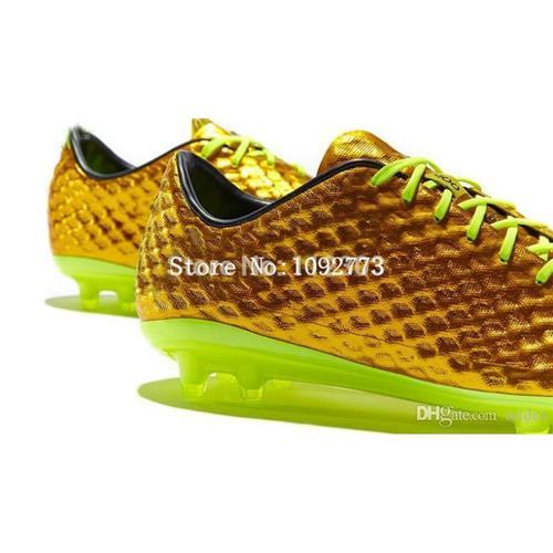 ful Soccer Shoes Men Indoor Flat Bottom Football Boots Football ...