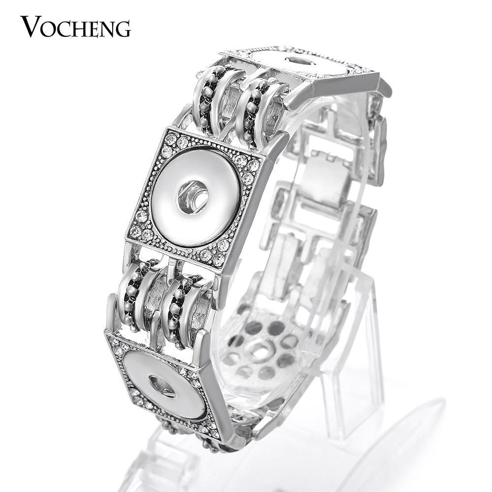 NOOSA Zencefil Çırpıda Bileklik 18mm Snap Düğmesi VOCHENG Vb-074 için Değiştirilebilir Takı