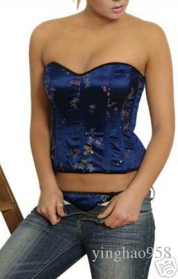 SEXY Bridal Lingerie corset+G-string size S-XL #A11