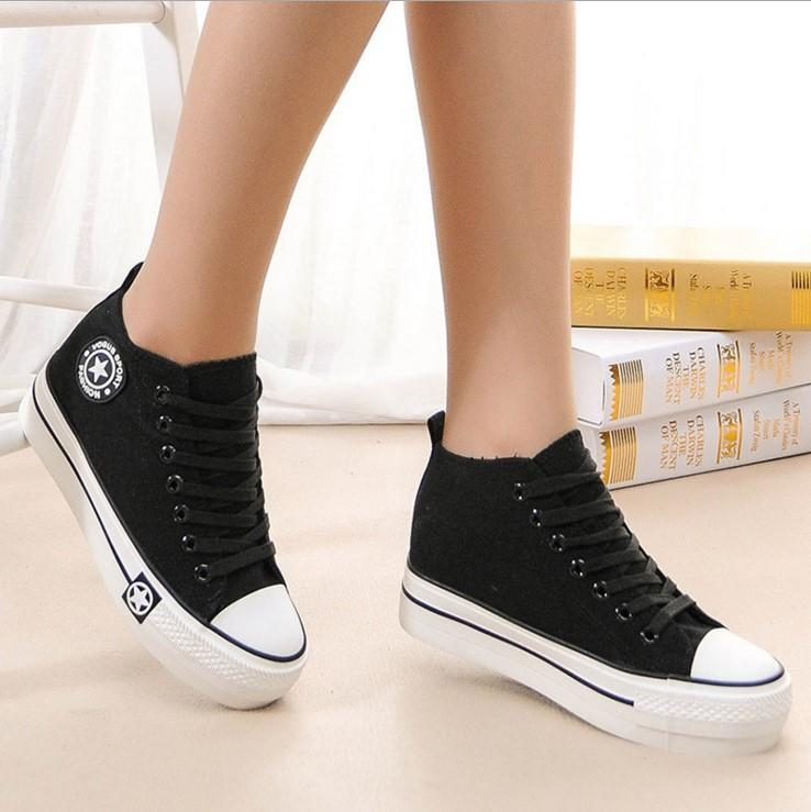 Girls Cloth Shoes Navy Shoes
