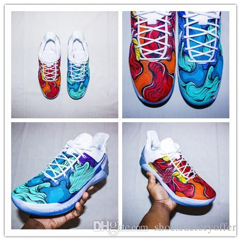 Cold And Hot Basketball Shoes KB