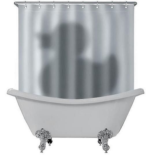 Nova marca Adorável Cinza Pato Sombra Padrão à prova d 'água Prevenir mofo cortinas de tecido do dia das bruxas para o banheiro