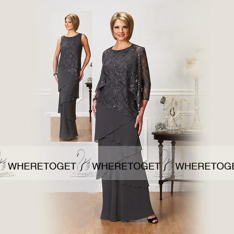 Charcoal Grey Mother Of The Groom Dresses Off 73 Buy