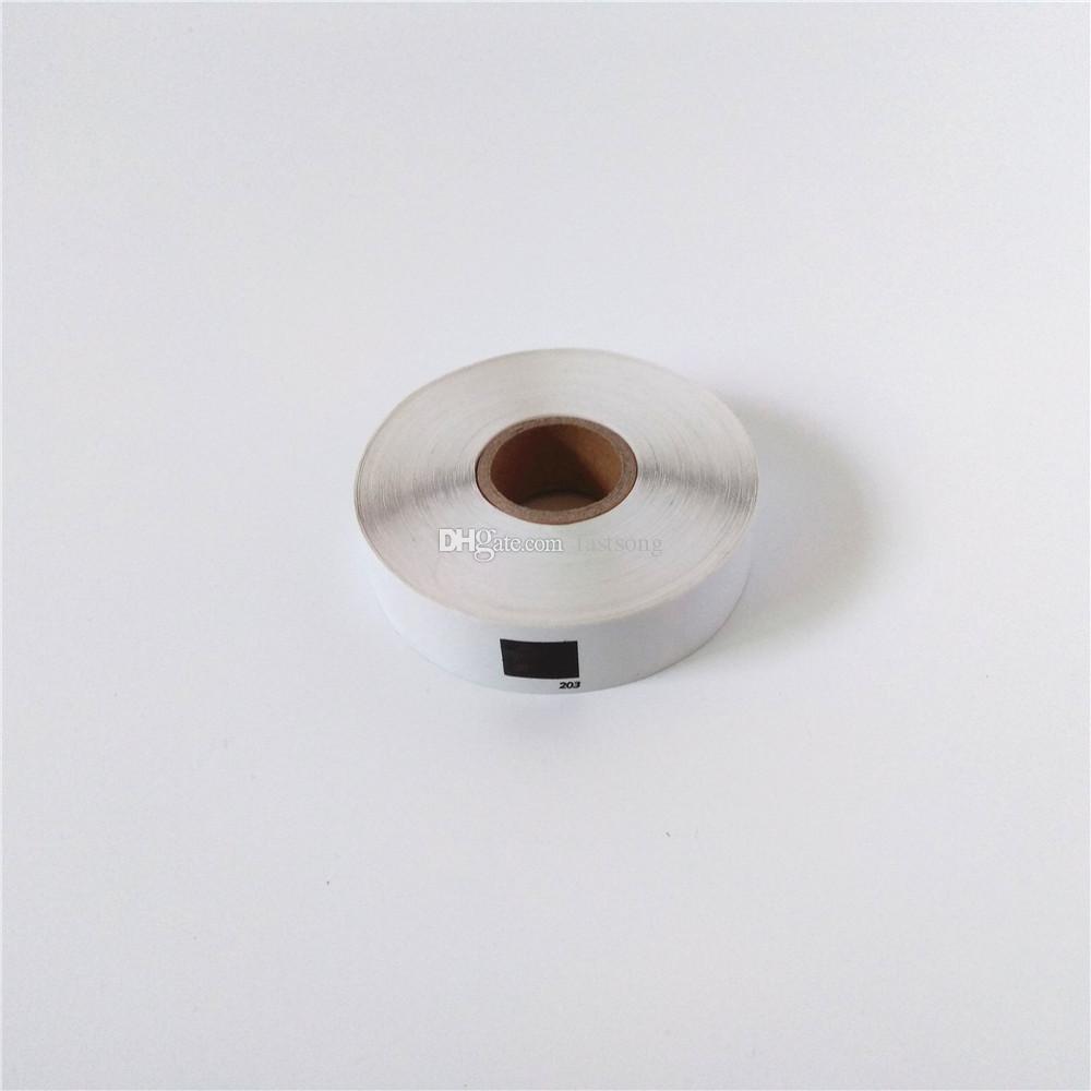 18 x Rollen Brother DK 11203 Kompatible Etiketten 17mmx87mm 300 Etiketten pro Rolle 1203 Etikettendrucker QL 570 580 700 720 1050 1060
