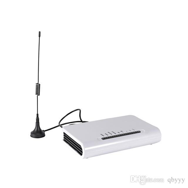 GSM 900MHz / 1800MHz للهاتف الثابت الخاص ببوابة التوصيل الطرفية للهاتف الثابت أو نظام إنذار خط الهاتف ، استخدم بطاقة Sim لإجراء المكالمات