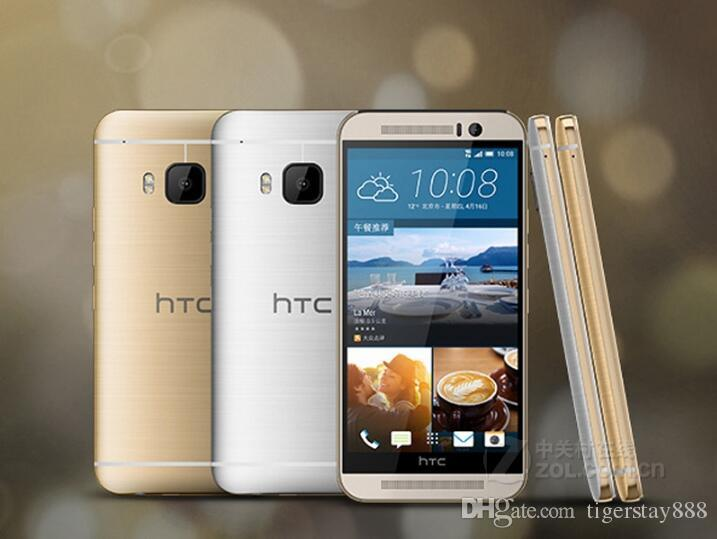 "Top Venda Desbloqueado Original HTC One M9 Quad-core 5.0"" Touch Screen telefone Android GPS WIFI 3GB RAM 32GB ROM remodelado"