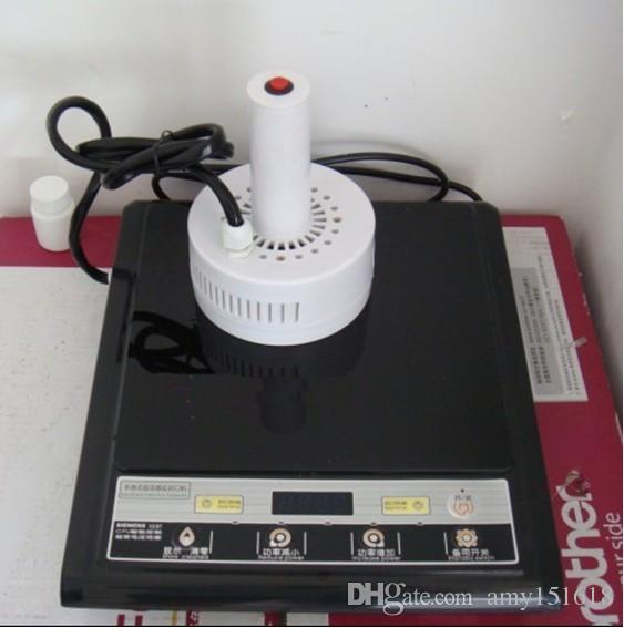 Hand-held inductie warmte vulling en afdichtingsmachine handmatige inductie sealer, aluminium folie afdichting machine, fles afdichting machine