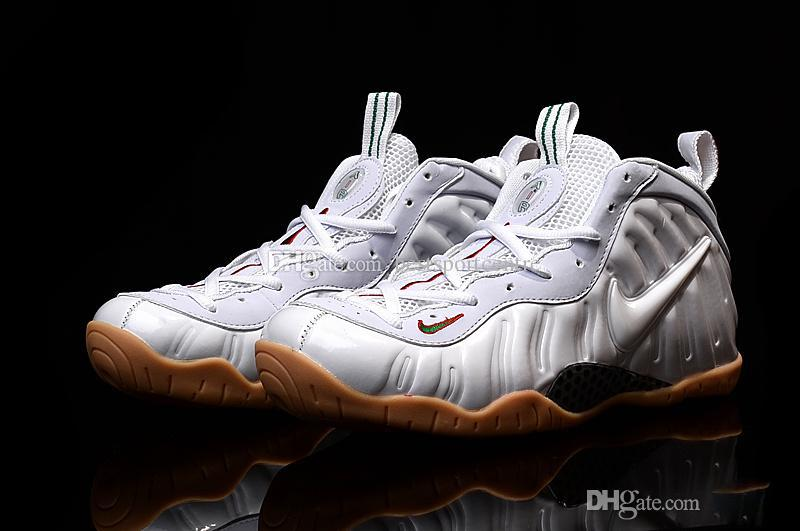 the best attitude 25c77 772ad Nike Foamposites Pro One Penny Hardaway Men Shoes White,Wholesale Original  Quality Air Foamposite Shoes Basketball Sneakers Size 41 47 Shoes Sale ...