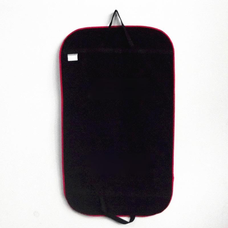 Черное Пальто Одежда Одежда Костюм Чехол Сумки Пылезащитный Вешалка Хранения Протектор Чехол Для Хранения Организатор