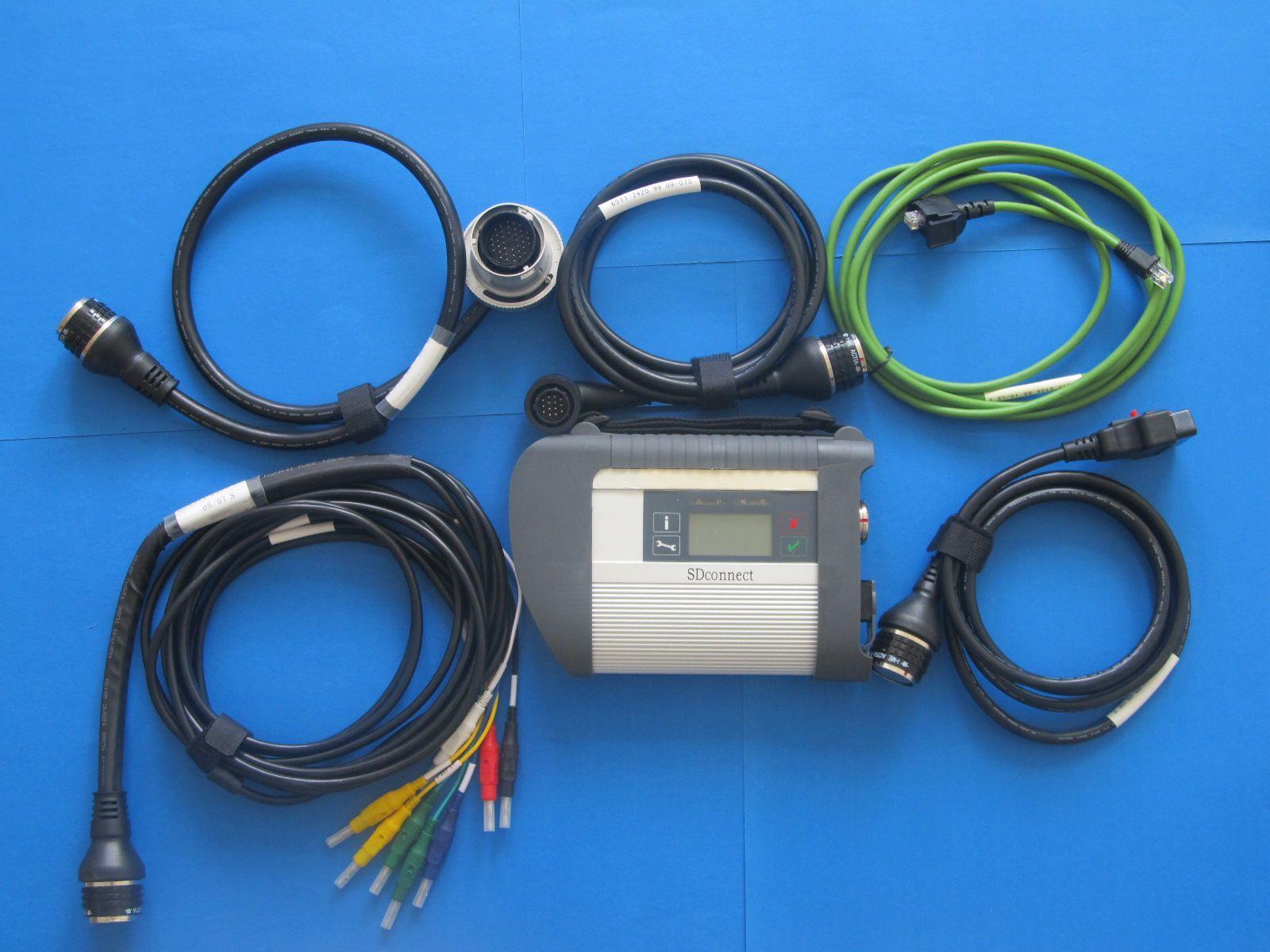 com wi-fi para mb star c4 sd conectar para carro e caminhões ferramenta de diagnóstico de melhor qualidade sem hdd