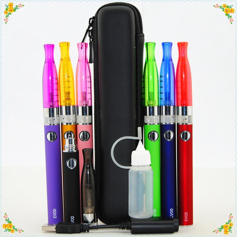 Kit sigaretta elettronica e sigaretta Mini H2 Mini GS-H2 atomizzatore + EVOD Batteria 650mah-1100mah con Mini eGo cerniera per DHL