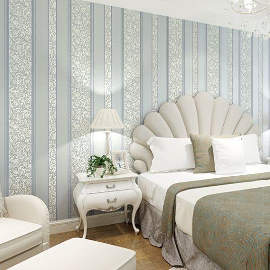 Papel pintado minimalista top beautiful mediterrneo azul - Papel pintado minimalista ...