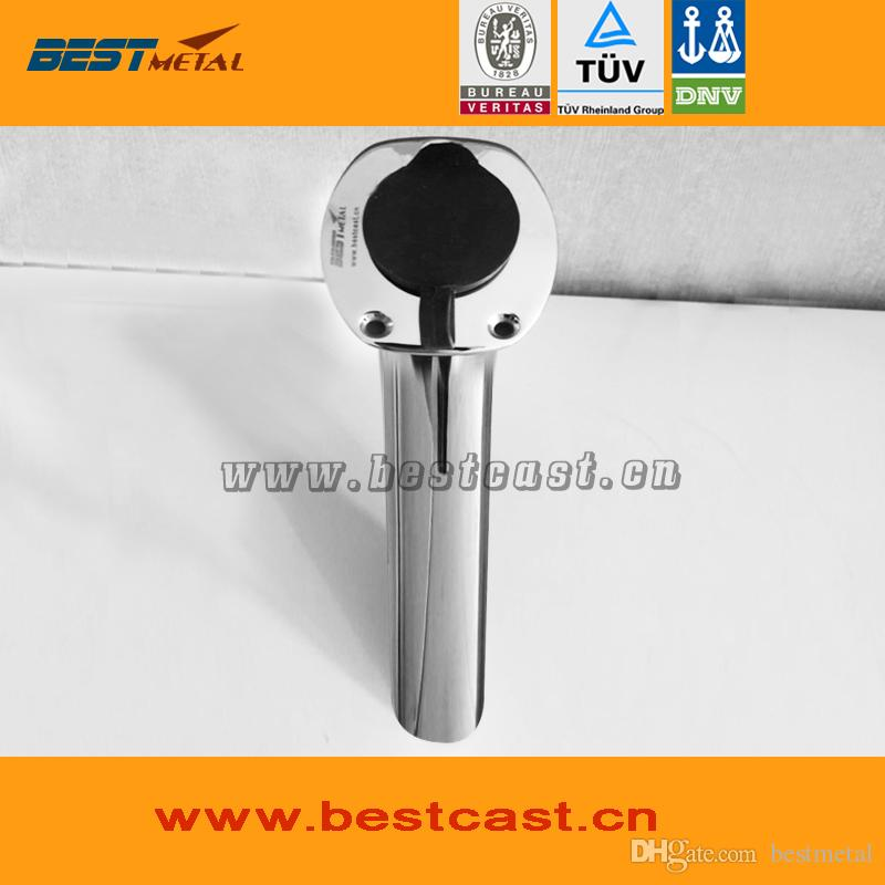 BEST METAL stainless steel 316L mirror polish fishing rod holder of marine hardware for boat and yacht fishing
