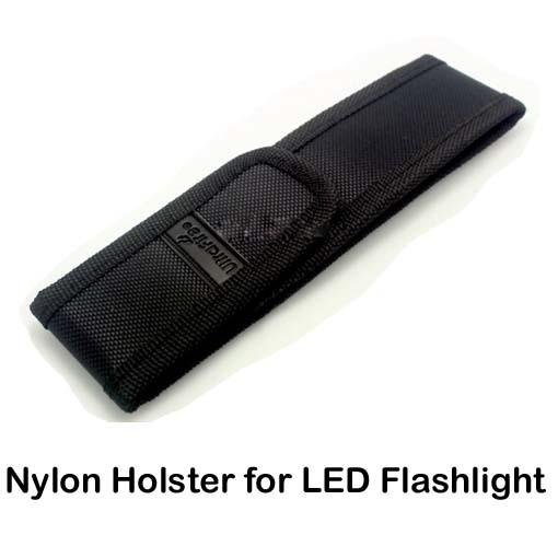 New Black Nylon Belt Holster Cover Pouch for UltraFire C8 E6 E17 A100 501B 502B LED Flashlight Torch 301 303 Laser Pen & DHL Free Delivery