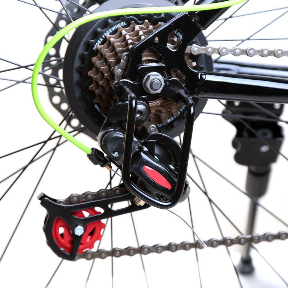 Cycling Bicycle Steel Iron Rear Derailleur Chain Guard Protector Black DT