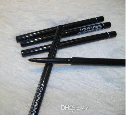 Maquillaje de 12 piezas Rotary Retractable Black Eyeliner Pen Pencil Eye Liner !!