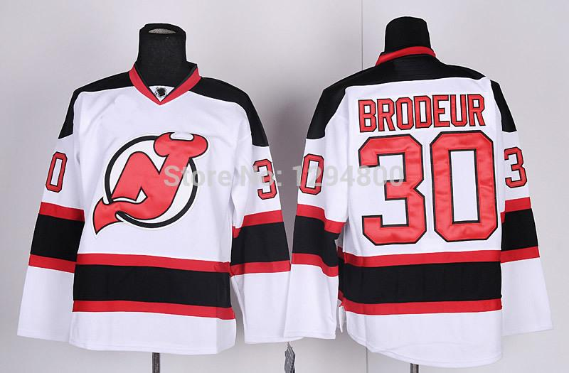 2-Men\`s New Jersey Devils Hockey Jerseys #30 Martin Brodeur Jersey Home Red Road Away White Cheap Stitched Jerseys China_2.jpg