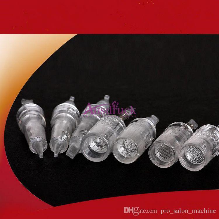 Высокое качество 11 шт. различные сменные головки титановые иглы картриджи для Eletric Micro Needle Derma Pen
