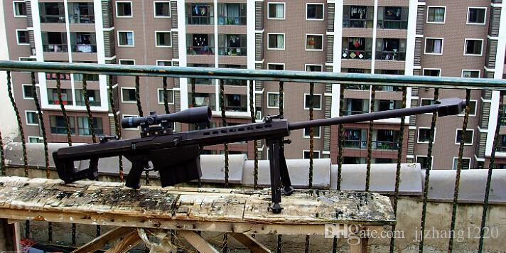 DIY 3D Papier Modell 1 1 Maßstab M82A1 12.7 mm Scharfschützengewehr Kit DE