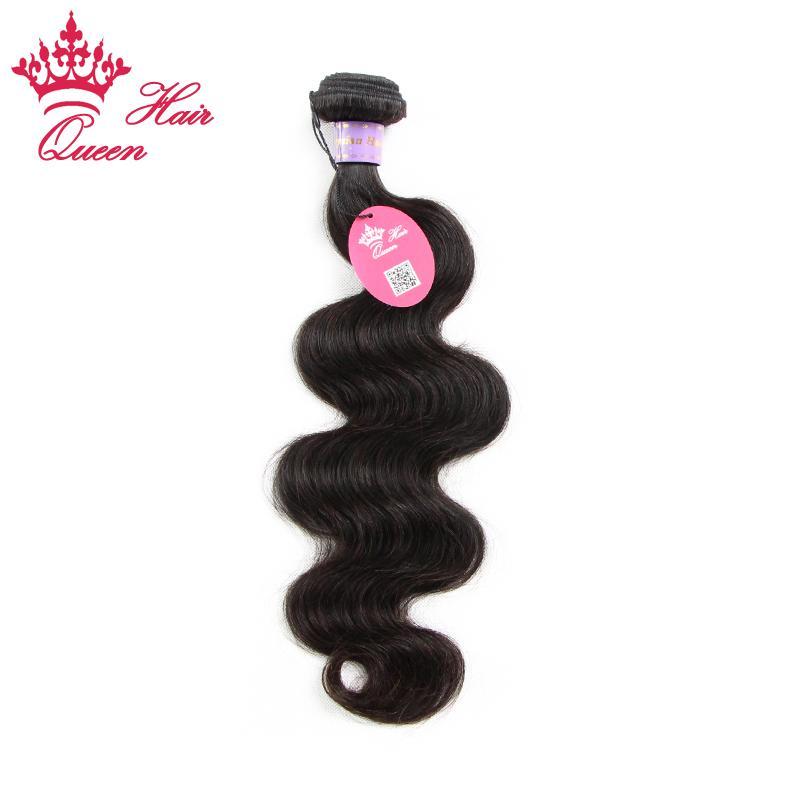 """Corps de la Reine malaisienne Virgin Human Weave meilleure vente extensions de cheveux de couleur naturelle 1pc / lot 8 """"-30"""" pouces"""