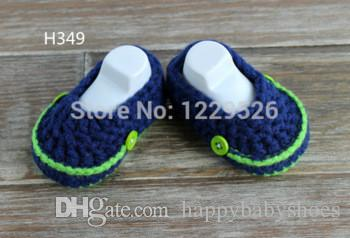 Baby loafer Shoes Blue/Green Baby Loafers infant knitted first walker shoes 0-12M baby shoes custom